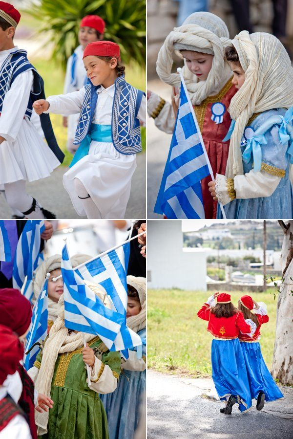 25th of March in Marpissa | Paros island Greek Independence Day
