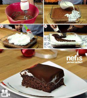 Islak Sünger Pasta Yapımı