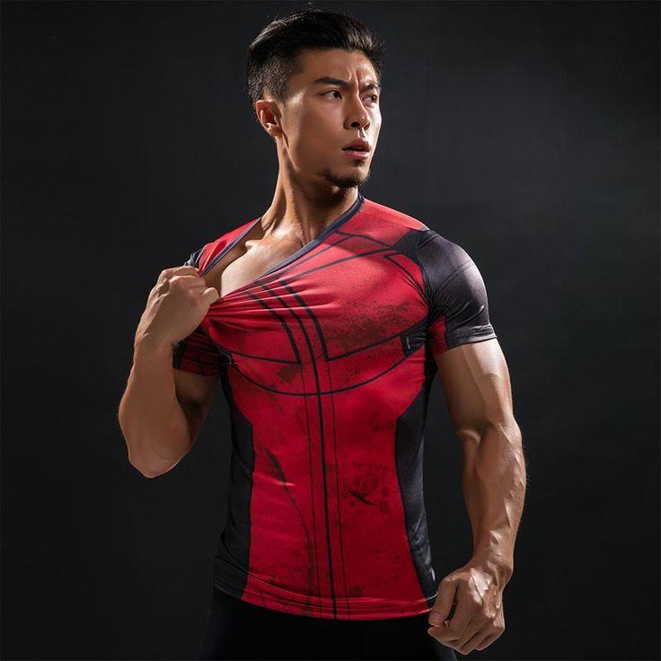 Fun Deadpool Shirt Tee 3D Printed T-shirts Men Bodybuilding Fitness Clothing Male Tops Funny T Shirt Deadpool Costume Display