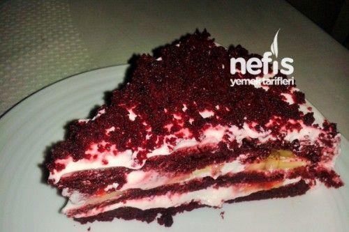 Kırmızı Kadife Kek Yapılışı (Red Velvet Cake) Tarifi