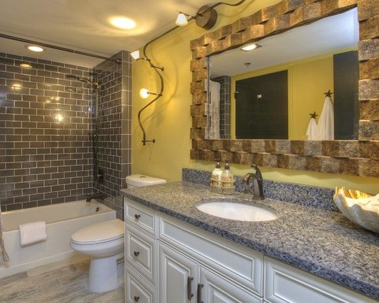 yellow and grey bathroom ideas 17 best images about new master bath ideas on 26265