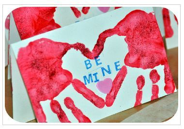 Valentine Heart Cards-she has other ideas on her blog, but this hand one is the cutest!