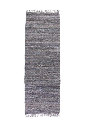 Leather Chindi 70x200cm Rug