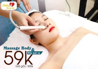 Ashley Beauty Spa – Voucher massage body đá nóng + đắp mặt nạ trắng da chỉ 59k