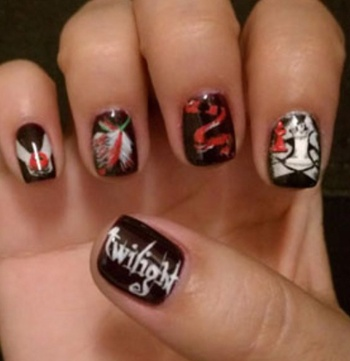 19 best twilight nails images on pinterest twilight saga nail added by annette r twilight sexy bloomdotcom prinsesfo Gallery