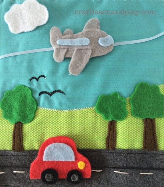 Very Special Boys Themed Quiet Book | Craft Learn & Play