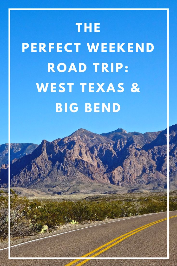 The Perfect Road Trip! Discover spectacular landscapes and boundless skies with a road trip deep into the heart of West Texas and Big Bend.