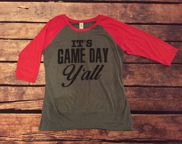 It's Game Day Y'all, It's Football Y'all, Game Day Shirt, Football Shirt, Baseball Tee, College Football, Friday Night Lights by StateLineGraphics on Etsy https://www.etsy.com/listing/478447061/its-game-day-yall-its-football-yall-game