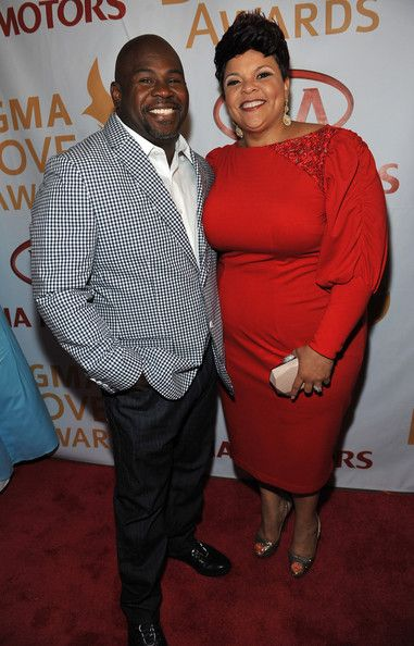 David & Tamela Mann at the 43rd Annual GMA Dove Awards Show
