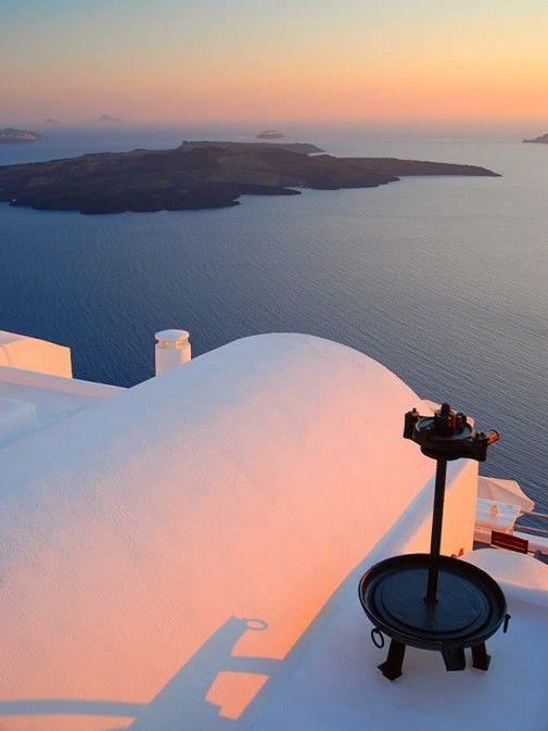 Colorful Architecture Oia, Santorini Island, Greece www.oiamansion.com