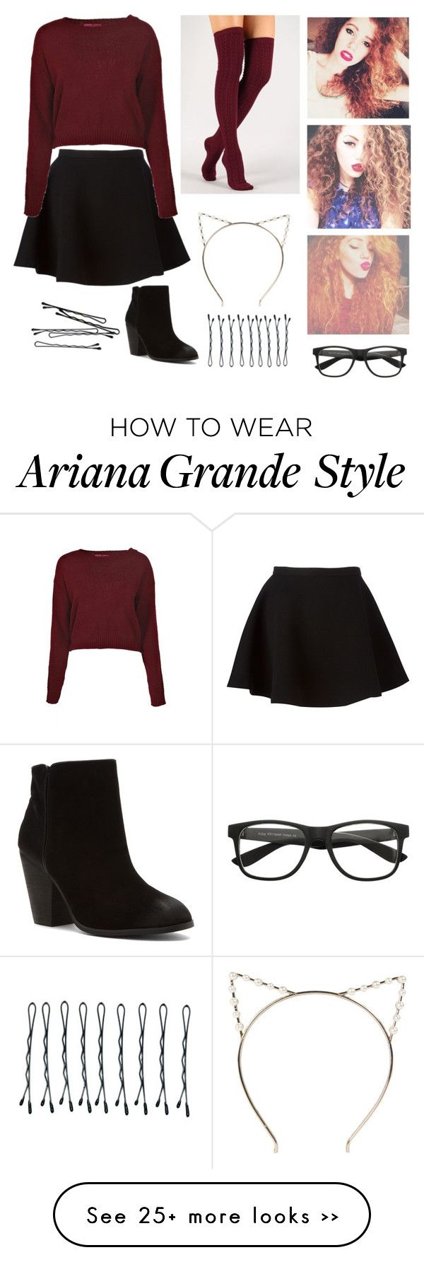 """Mahogany Lox style"" by gmnarayan on Polyvore"