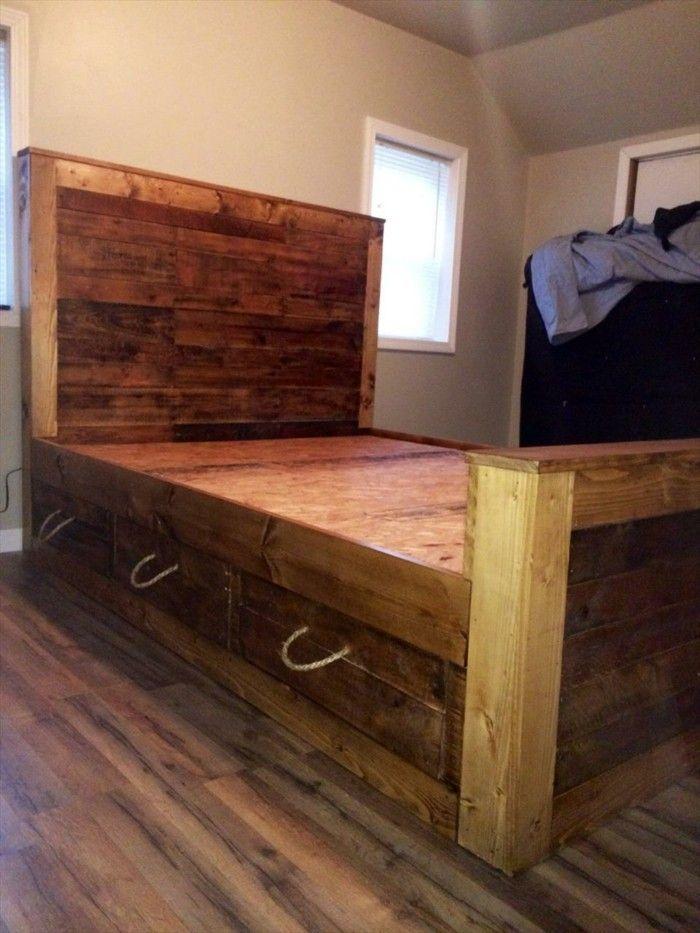 Außergewöhnliche betten selber bauen  27 besten DIY Betten Bilder auf Pinterest | Bett bauen, Selber ...