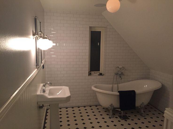 Nu är badrummet klart #sekelskifte