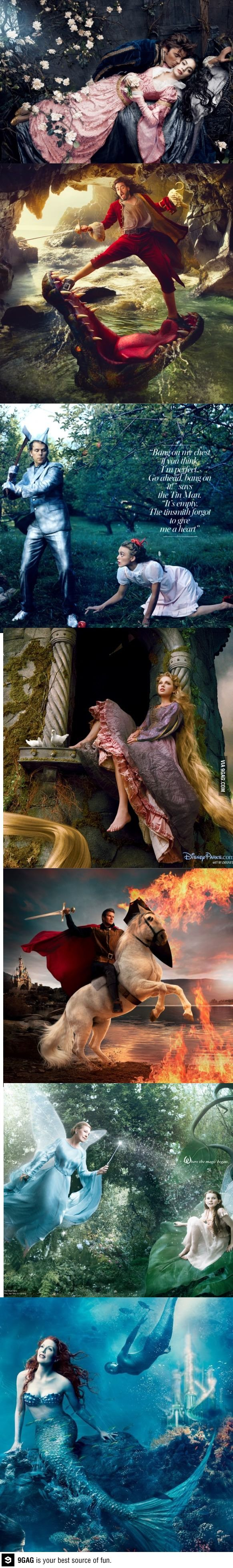 Celebrities as real life Disney characters I think Russell Brand is my favorite...