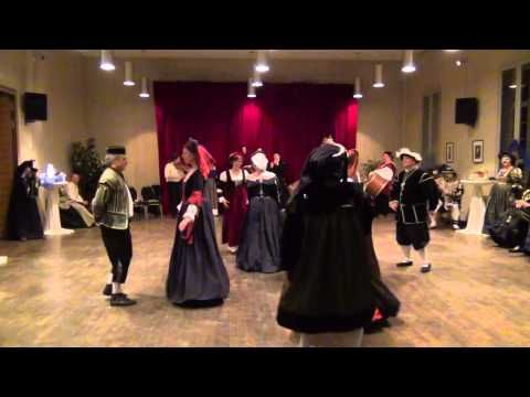Saltatio Burgus - Allemande et Tripla - Hoftanz - YouTube