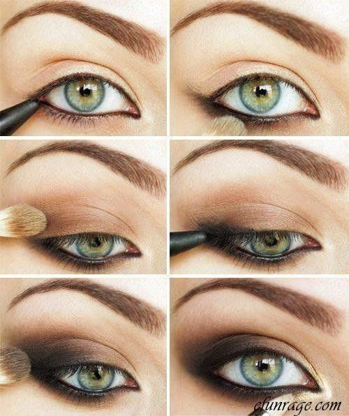 DIY Smokey Eye Makeup