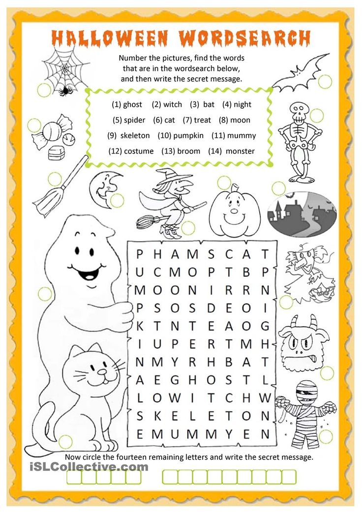 Best  Halloween Worksheets Ideas On   Free Printable