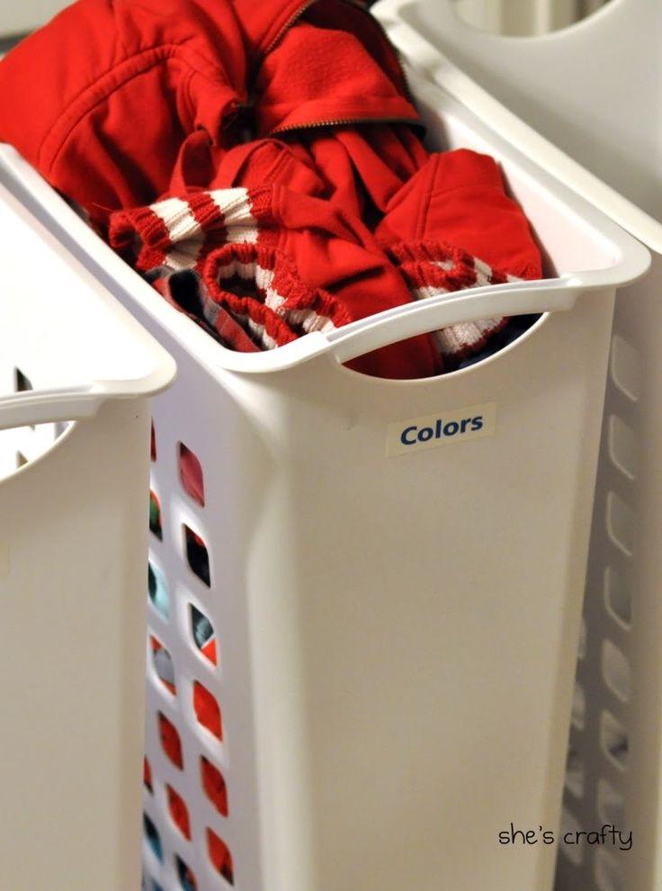slim tall laundry baskets walmart