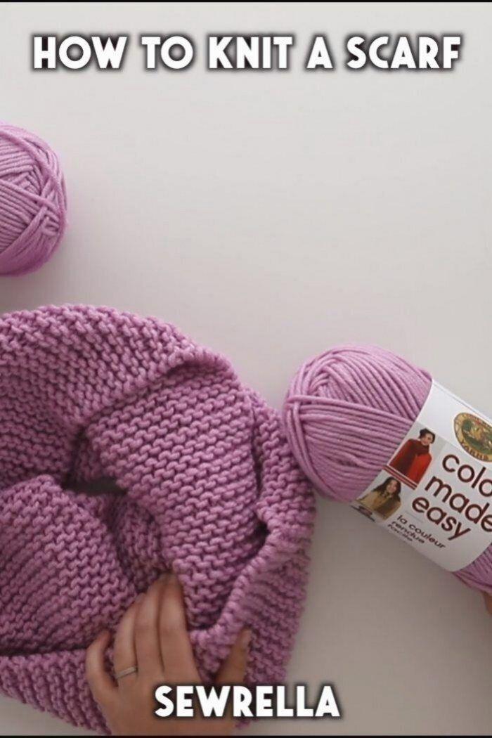 Cette Echarpe En Tricot Pour Debutant Est Si Facile Et Simple A Fabriquer Aucu Comment Tricoter Modeles De Tricot Pour Debutants Comment Tricoter Une Echarpe
