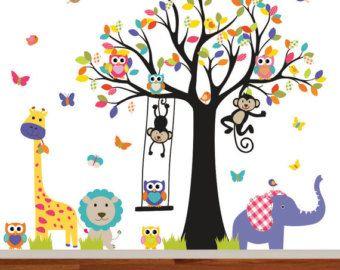 Best  Wandtattoo Baum Kinderzimmer Ideas On Pinterest Baum - Nursery wall decals gender neutral