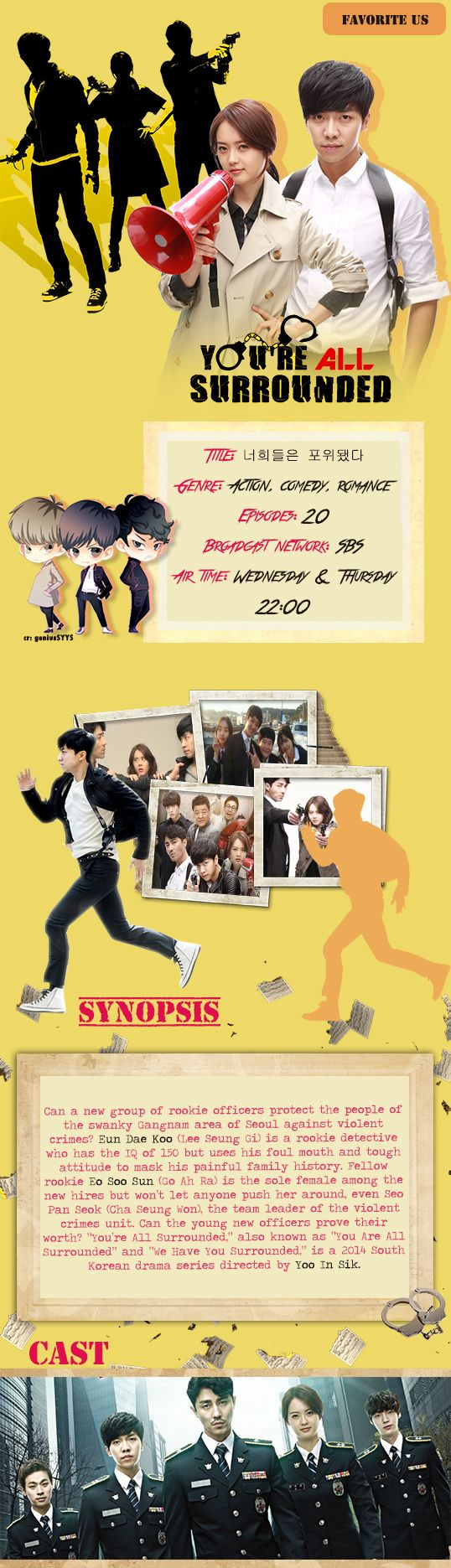 You're All Surrounded (a.k.a. We Have You Surrounded ) - 너희들은 포위됐다 - Watch Full Episodes Free - Korea - TV Shows - Viki