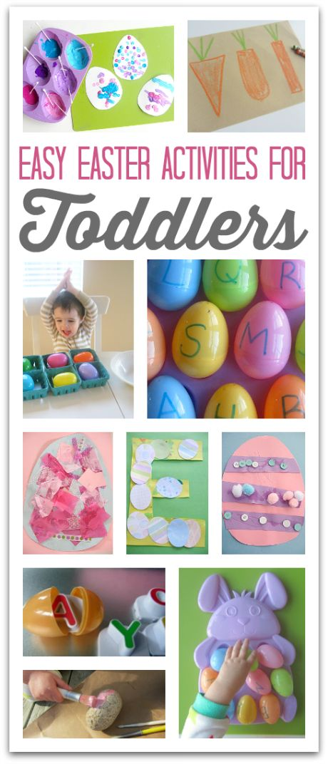 Some of these Easter crafts are so simple but so cute for toddlers. Great Easter ideas.: Kids Easter, Toddlers Activities, Easter Crafts, Easter Spr, Easter Fun, Easter Eggs, Easter Gift, Easter Activities, Easter Ideas