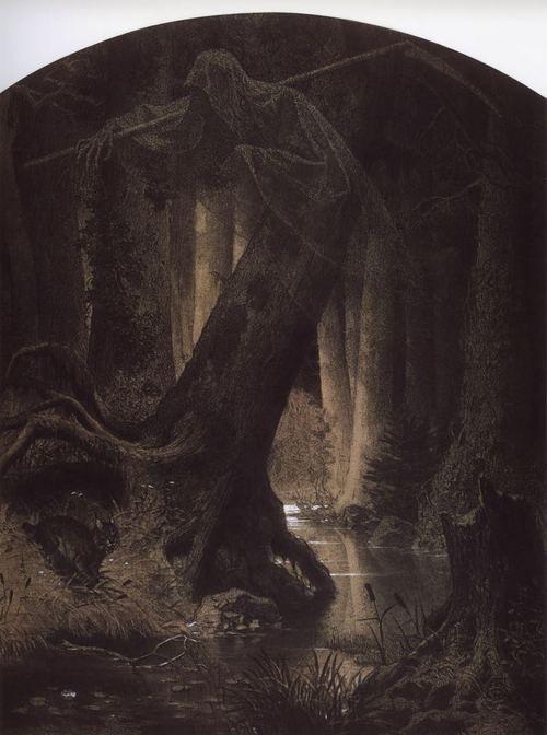 Artur Grottger #illustration #dark