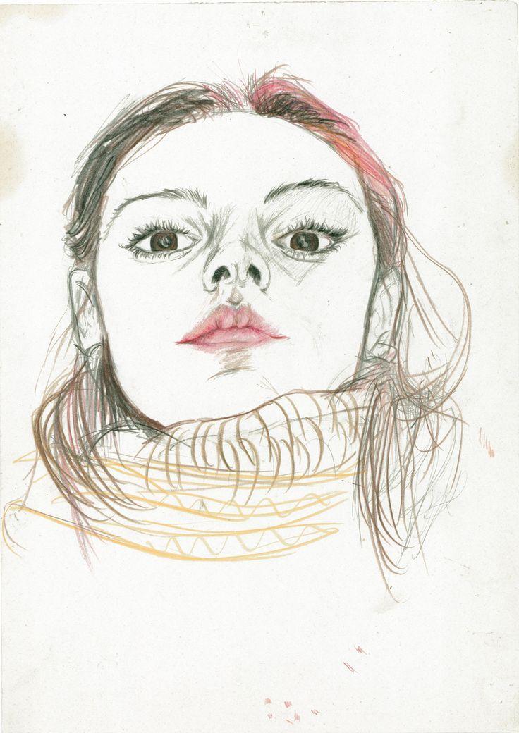Autoritratto giovanile........early self-portrait.