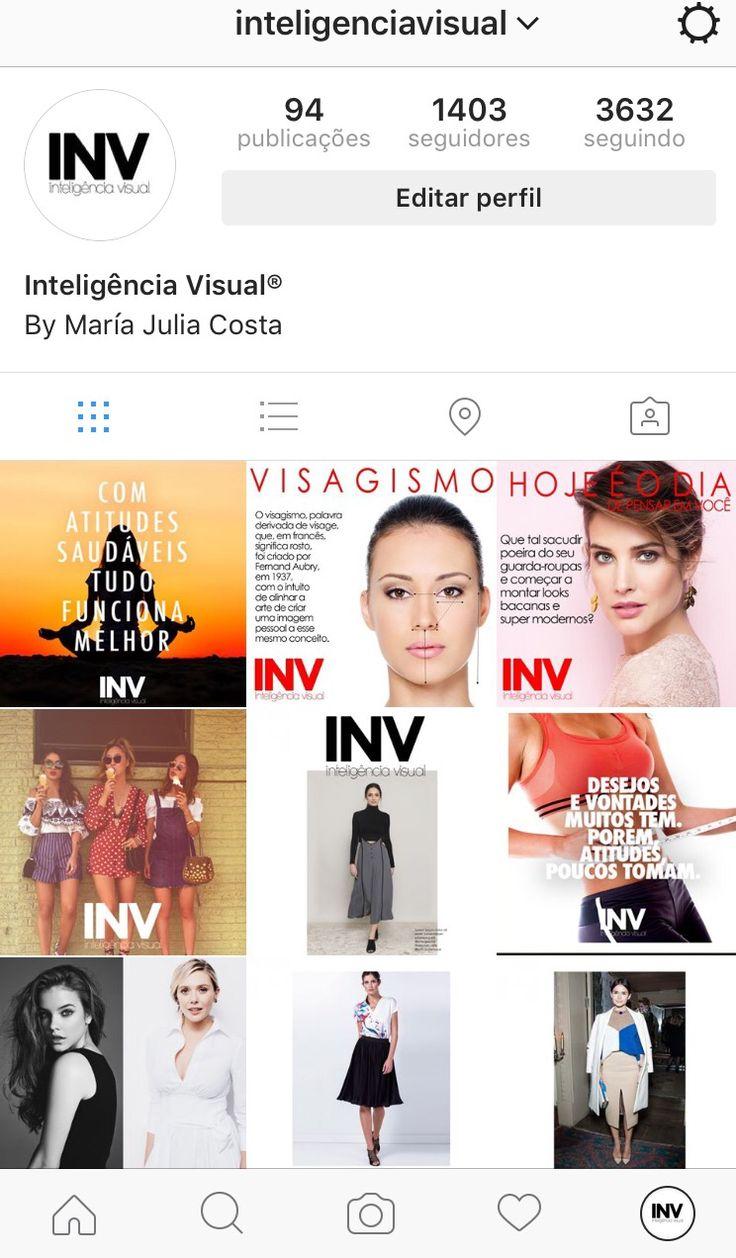 Instagram  Estilo Moda Imagem  Inteligência Visual  María Julia Costa