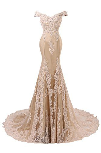 Bess Bridal Women´s Mermaid Beaded Lace Formal Prom Evening Dress Champagne Bess Bridal http://www.amazon.com/dp/B01AJJ4E1M/ref=cm_sw_r_pi_dp_7X03wb0CYSDDP