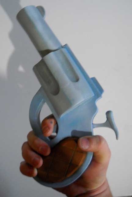 Someone made the toon-gun from Who Framed Roger Rabbit