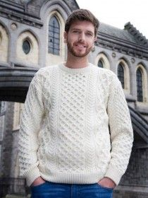 Aran Mens Sweater A653
