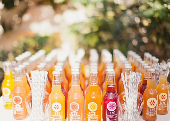 Soda Bar Set-up  {Alixann Loosle Photography}