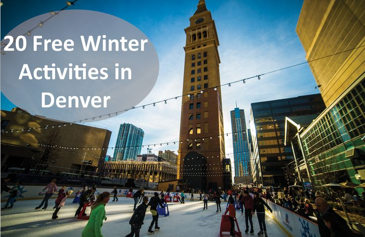 From free museum days to brewery tours, here's a complete list of Free Winter Activities in Denver!