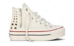 I piedistalli alle sneakers: Converse alte platform Chuck Taylor All Star Platform Zip
