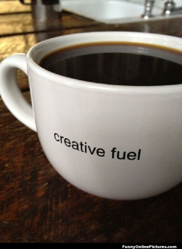 Coffee Creative Mug Is Fuel For Creativity