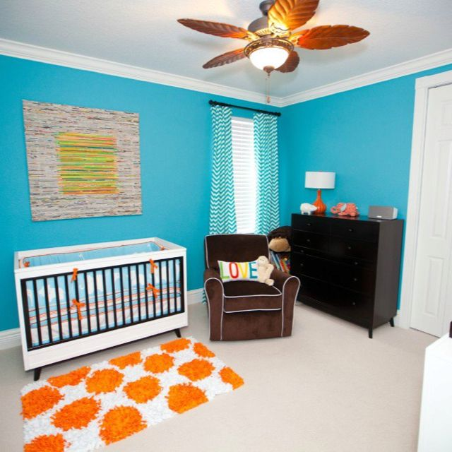 Colorful Nursery: 78+ Images About Colorful And Fun Baby Rooms On Pinterest