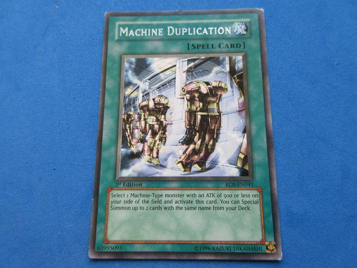yugioh machine duplication