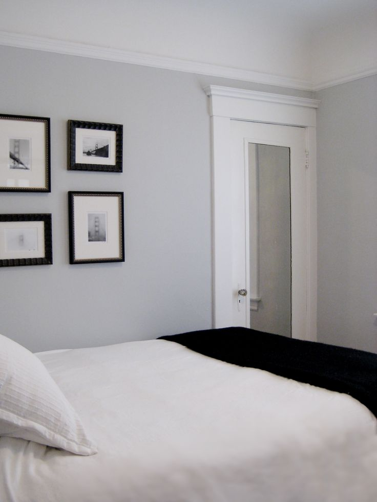 84 best images about house paint colors on pinterest for Benjamin moore smoke gray