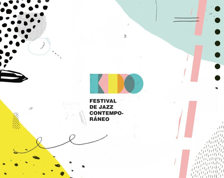 Consultez ce projet @Behance: \u201cKIDDO - Festival de jazz contemporáneo\u201d https://www.behance.net/gallery/48383725/KIDDO-Festival-de-jazz-contemporaneo