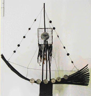 Haarald, 2006, mixed media, 60x70x10