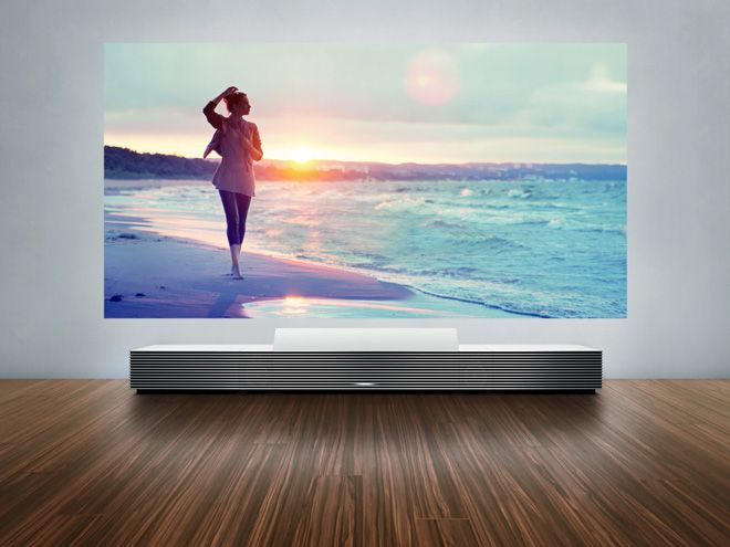 Sony unveils 4k ultra short throw projector at ces 2014
