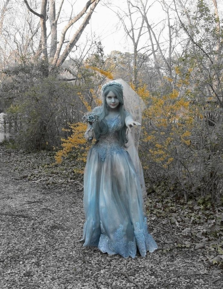Ever Yours by Ruskicho on DeviantArt- the Haunted Mansion bride!