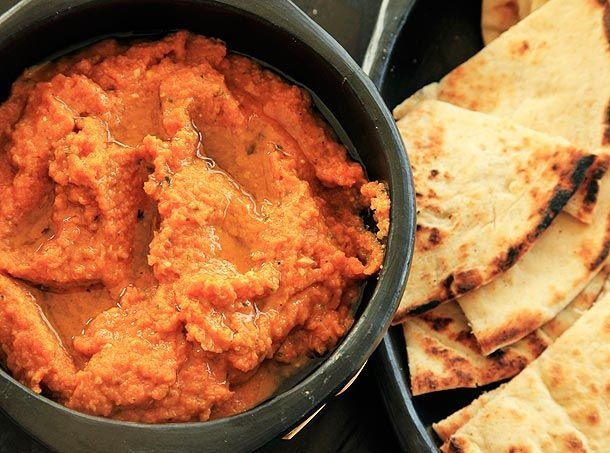 Moroccan-Style Spicy Carrot Dip | Recipes | Pinterest