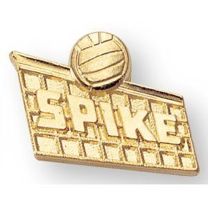 Volleyball Spike Lapel Pins (10-Pack) by CM. $18.90. Ships in 1-2 business days from New York. Clutch pin back.. Chenlle Letter Award Pins With Gold Finish