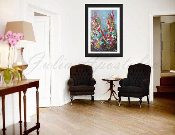 JuliaApostolova - Original Painting #art #painting #home #design #taulu #taide