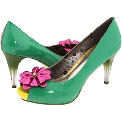 Poetic License: Spring Shoes, Pink Flowers, Poetic License, Color, Mint Shoes, Poetic Licence, 12 Shoes, Shoes Cuteshoes, Mint Green Heels