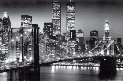 Noite em Manhattan, Nova York - Berenholtz poster