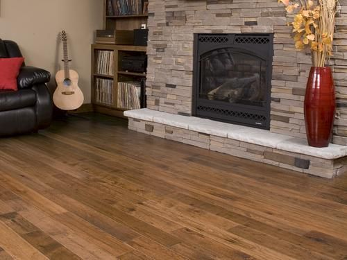 Handscraped Antique Hickory Engineered Hardwood Flooring X Sq.ft/ctn) At  Menards®