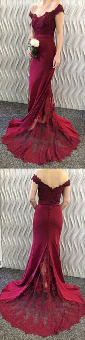 2017 long mermaid prom dresses,sexy mermaid prom dresses,long cheap prom dresses,burgundy prom dresses,sexy 2017 prom dresses,long prom dresses 2017,cheap prom dresses long,off the shoulder prom dresses,